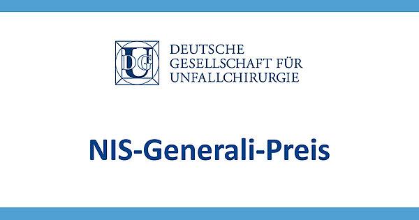 Logo des NIS-Generali-Preis der DGU